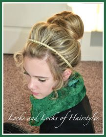 Quick n easy video on how to do a top knot