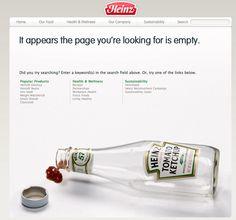 Heinz - error › PatternTap    #404 #error #funny