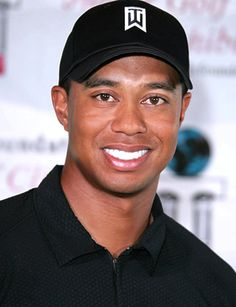 Tiger Woods - turns out he is only human but man can he golf!