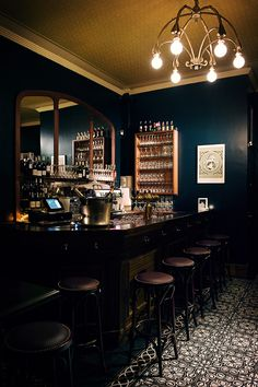Josephine - The big old-fashioned bar is manned by a couple of smiling, relaxed and helpful bar staff, and the front room gives onto a more intimate rear area with comfortable banquettes, a small dance floor and a second bar.