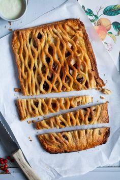 Apple Pie mit Cranberries