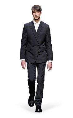 Ermenegildo Zegna Couture: Fall Winter 2014-15 Fashion Show by Stefano Pilati – Look 9