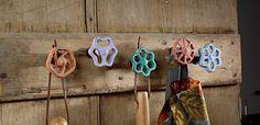 alte Wasserhahnventile bunt lackieren und kreativ verwenden
