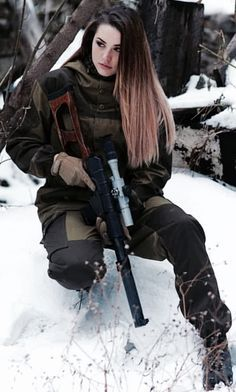 Deadly military women also deserve to fight for their country just like men. Woman have served in the military in greater number than before. Military services all open for both gender. Military Girl, Military Outfits, Military Jackets, Women Poster, Warrior Girl, Female Soldier, Military Women, Badass Women, Girl Photos