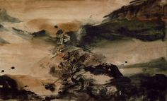 Composition abstraite, Zao Wou-Ki © Applicat-Prazan