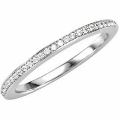 DIAMOND MATCHING BAND Imagine. $363.32. 1/6 CT TW. 0.14. Palladium