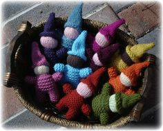 baby gnome 002 by tiedyequeen2000, via Flickr - free Rav pattern