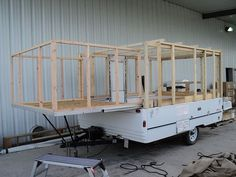 Decorating A Pop-Up Camper   Structural ideas for converting a pop up camper