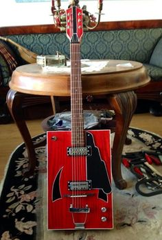 Self made Bo Diddley(ish) guitar