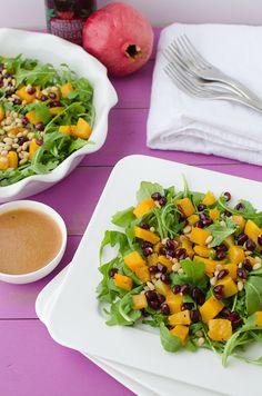 Butternut and Arugula Salad