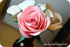 """rose tutorial at """"DIY or Don't""""  a great website"""