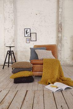 Gratisanleitung - Die Kissen aus Home Style sehen nicht nur toll aus, mit ihnen kannst Du es Dir auch auf dem Sofa so richtig gemütlich machen.