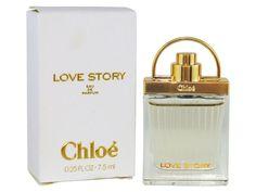 Parfums Chloé - Miniature Love story (Eau de parfum 7.5ml) Parfum Chloe, Chloe Perfume, Miniature Parfum, Miniatures, Love Story, Perfume Bottles, Collection, Beauty, Fashion