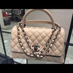 CHANEL Coco Handbag Shoulder Bag Brand  Chanel Style  Coco Handle Type   Shoulder crossbody 7911c255b0f3b