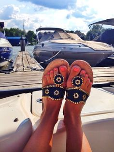 Jack Rogers whipstitched navy & gold sandals Worn once for maybe an hour. Navy suede with gold stitching. No box included. Bobbies Shoes, Cute Shoes, Me Too Shoes, Preppy Style, My Style, Preppy Girl, Summer Outfits, Cute Outfits, Gold Sandals