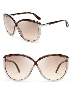 Tom Ford Abbey Oversized Sunglasses | Bloomingdale's
