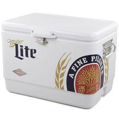 Miller Lite Coleman 54 Quart Cooler