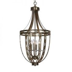 Replaced our foyer light fixture  this fall. Not with this one, but this was the inspiration ...