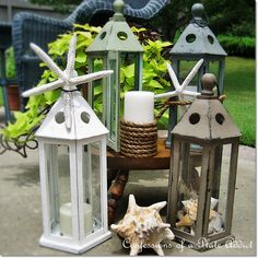 CONFESSIONS OF A PLATE ADDICT: Summery Seaside Lanterns