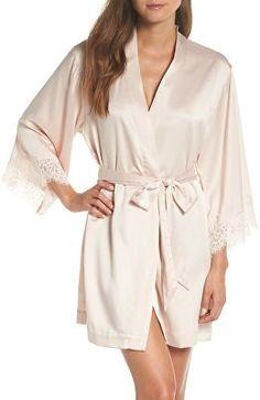 39833a6e6 HOMEBODII Designer Juliette Short Robe Bridesmaid Robes, Sleepwear Women,  Lounge Wear, Bridal Robes