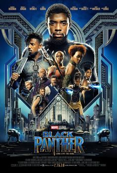 Black Panther Movie Poster Quality Glossy Print Photo Art Chadwick Boseman, Michael B. Jordan Sizes