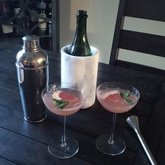 Champagne campaign! #cocktails #bubbly #champagne