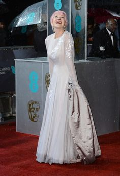 Helen Mirren, EE British Academy Film Awards, February 10th 2013...the way age should be done.