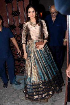 Indian Long Dress, Indian Wedding Guest Dress, Pakistani Wedding Outfits, Indian Gowns Dresses, Pakistani Dresses, Indian Outfits, Half Saree Lehenga, Anarkali, Sarees