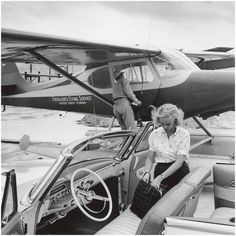 Slim Aarons - Patsy Pulitzer, Private Transport For Sale at 1stdibs
