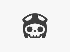 Skully! by Pilot #Design Popular #Dribbble #shots Skull Logo, Skull Art, Logo Luxury, Graffiti, Illustrations, Illustration Art, Helmet Design, Skull And Bones, Logo Inspiration
