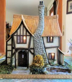 Nearly finished - 1/2 Scale Petite Properties: Hobgoblin Hall - Gallery - The Greenleaf Miniature Community