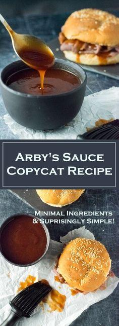 Arby's Sauce Copycat Recipe - Fox Valley Foodie - Arby's Sauce Copycat Recipe – BBQ Sauce via Fox Valley Foodie La mejor imagen sobre healthy mea - Copykat Recipes, Sauce Recipes, Cooking Recipes, Arbys Sauce Recipe, Copycat Bbq Sauce Recipe, Pork Recipes, Cooking Tips, Arby's Sauce, Salsa Barbacoa