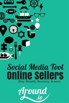 Around.io is an amaing #tool which takes my #products from etsy and  posts them to my #socialmedia all with just a few clicks! It's amazing and you've got to give it a try! Try it for free here: http://around.io/index.php?rfrl=5D5B59lL7Gnv5ducSuDsJWUqM-UR8K84IuKenS9gqKo&src=pinterest