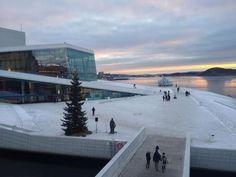 Oslo, Christmas at the Opera :)