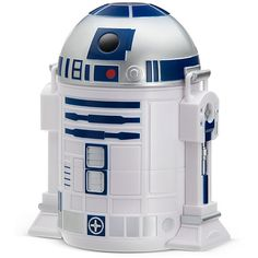 Star Wars R2-D2 Bento Lunch Box (€14) ❤ liked on Polyvore featuring home, kitchen & dining, food storage containers, thinkgeek, lunch box, safe plastic food storage containers, binto box and star wars lunch box