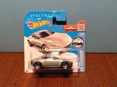 Hot Wheels Aston Martin DB10 #112 HW Showroom 2016 Silver 007 Int. Short Card #HotWheels #AstonMartin