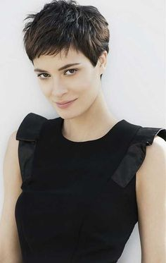 Textured-Dark-Pixie-Hair