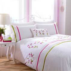 Arabella Bed Set -Brand New Design from Charlotte Thomas http://www.welovelinen.com/arabella-quilt-cover-set-1411-p.asp