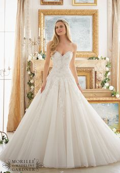 Mori Lee - 2877 - All Dressed Up, Bridal Gown