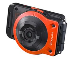"Conventional camera style / Casio Releases EXILIM ""Split Camera"" That Enables All-New Ways of Shooting Photos"