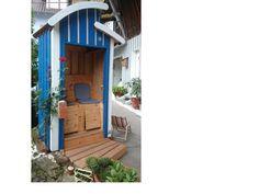 """Aus alten Restmaterialien wird ein wahrer Hingucker! """"Strandhäuschen"""" Details findet ihr hier: http://www.toom-baumarkt.de/selbermachen/kreativwerkstatt/details/strandhaeuschen-2623/ #toom #Baumarkt #toomBaumarkt #toomTeam #Heimwerken #DIY"""