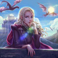 Game of Thrones - Daenerys Targaryen on Dragonstone by...