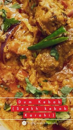 A #quickfix kebab curry with Spicy lamb seekh kebabs coated in a thick and flavourful tomato based masala. It is a perfect recipe for fuss free #weeknightdinner or to use leftover #seekhkebab AShamaluevMusic • Happy Upbeat Acoustic Seekh Kebabs, Ethnic Food, Acoustic, Lamb, Spicy, Curry, Good Food, Chicken, Meat