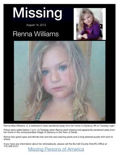recent missing children - 736×952