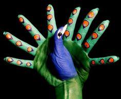 73 En Iyi El Boyama Sanati Görüntüsü Body Paint Hand Art Ve Hand