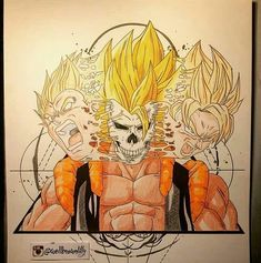 "18 Likes, 2 Comments - super fun hub (@superfunhub) on Instagram: ""This is dope....gogeta... ⏩visit &follow page @superfunhub Like & share Give credit if u repost …"""