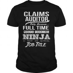 CLAIMS AUDITOR - NINJA T-Shirts, Hoodies (22.99$ ==► Order Here!)