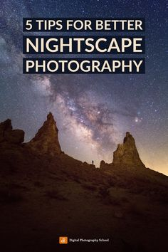 If you enjoy night photography, here are some quick tips for creating better nightscape images. Moon Photography, Photography Lessons, Photography Courses, Photography Camera, Photography Tutorials, Photography Photos, Learn Photography, Travel Photography, Beautiful Landscape Photography