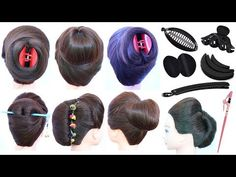 7 easy and cute hairstyle with using hair tools clutcher hairstyles updo hairstyles hairstyle Cute Hairstyles Updos, Cute Simple Hairstyles, Hairstyle Look, French Roll Hairstyle, French Twist Hair, French Bun, Easy Chignon, Chignon Hair, Running Late Hairstyles