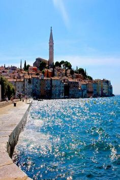 Postcard views of Rovinj, Croatia